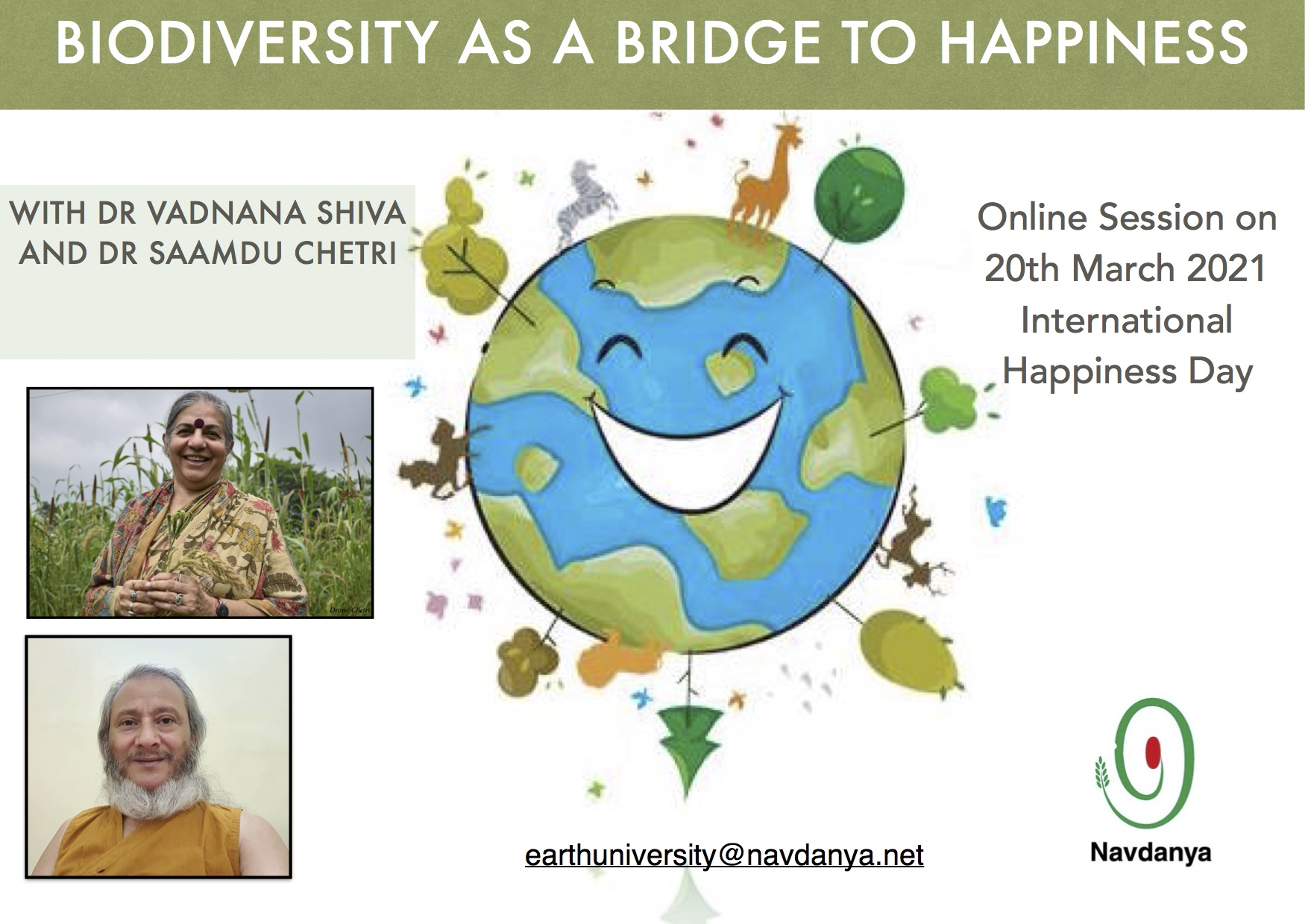Biodiversity as a Bridge to Happiness