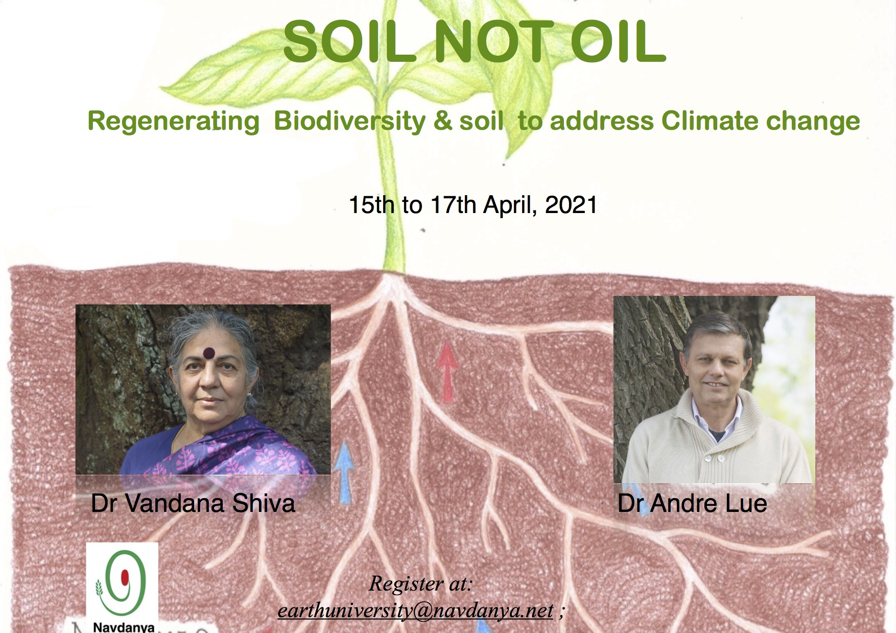 Soil not oil: regenerating Biodiversity and soil to address Climate change