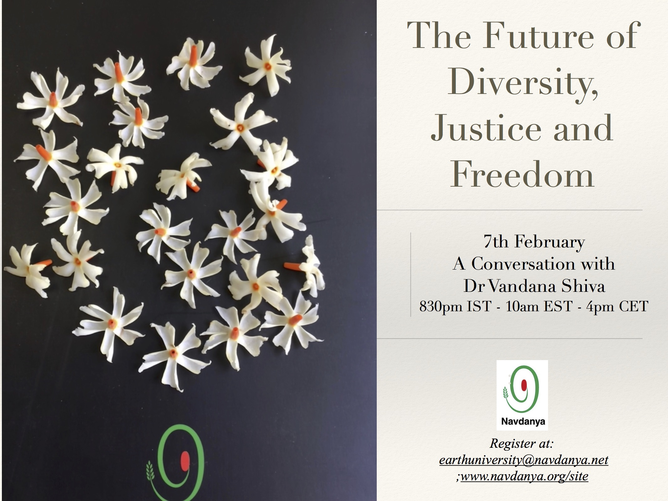 The Future of Diversity, Justice and Freedom