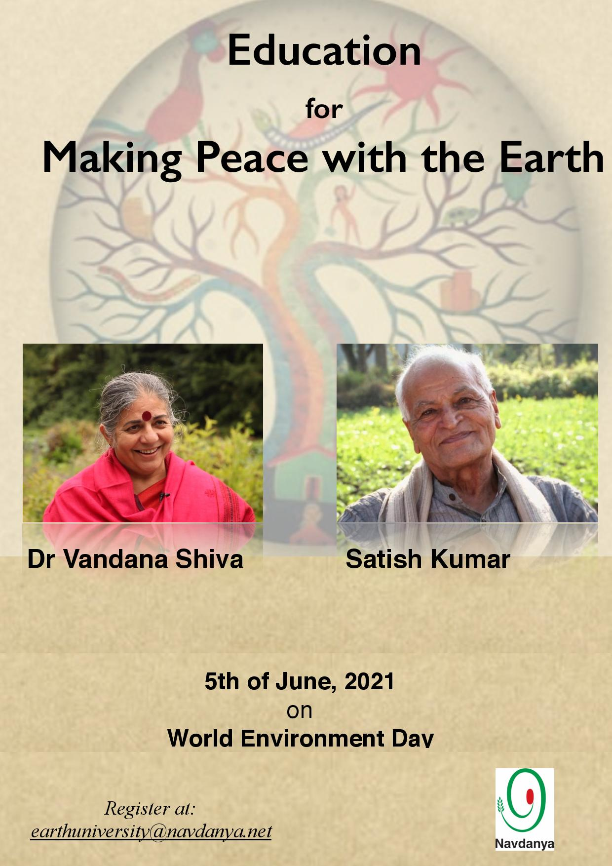 Education for Making Peace with the Earth