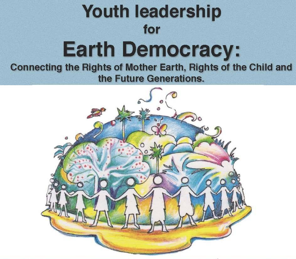Youth leadership for Earth Democracy